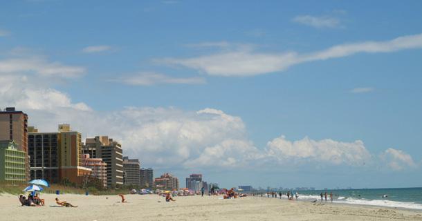 Beach in Myrtle Beach SC